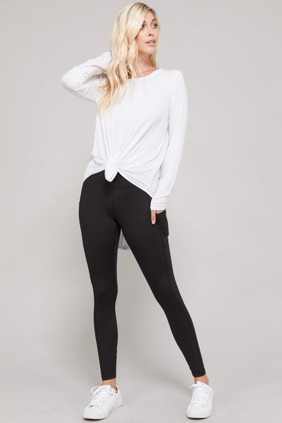 Secret Pocket Yoga Leggings (more colors)