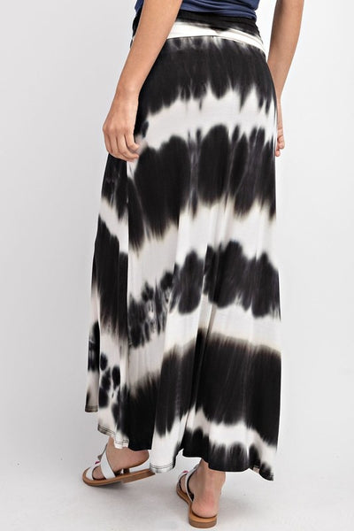 Totally Tie Dye Maxi Skirt (more colors)