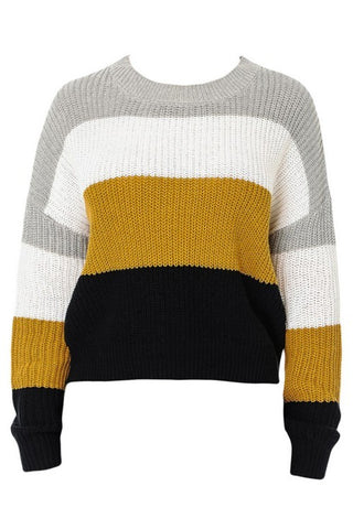 Block Party Soft Knit Sweater