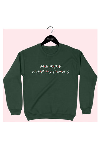 Friends Christmas Sweatshirt