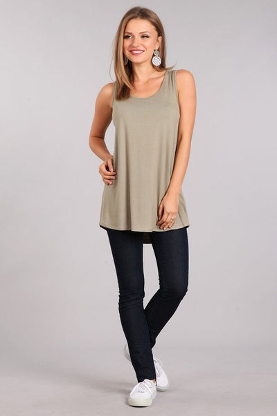 Basic Maternity Tank Top (more colors)