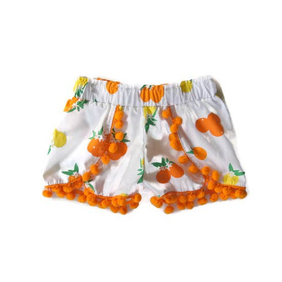 Hello Ellie - Main Squeeze Citrus Shorts