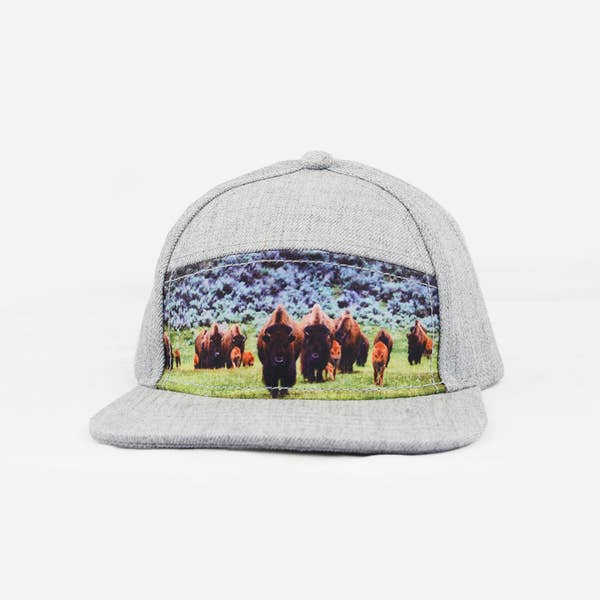 The Blueberry Hill - Buffalo Snapback Hat
