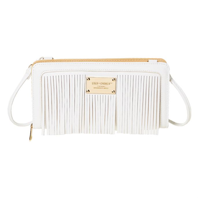 Ellie Fringe Wallet/Clutch with Strap (more colors)