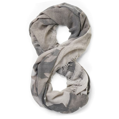 Shades of Grey Oversized Infinity Scarf