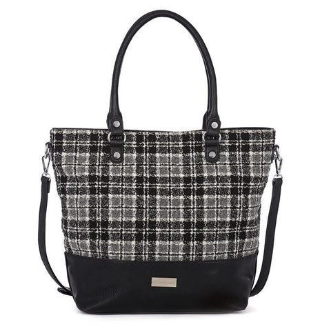 C+C Natalya Plaid Tote Bag (more colors)