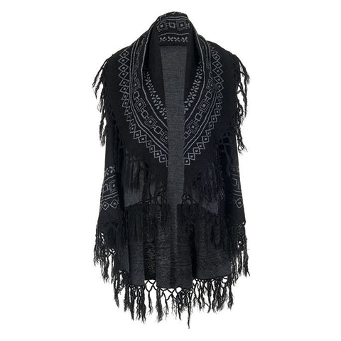 C+C Downtown Fringe Sweater Vest (more colors)
