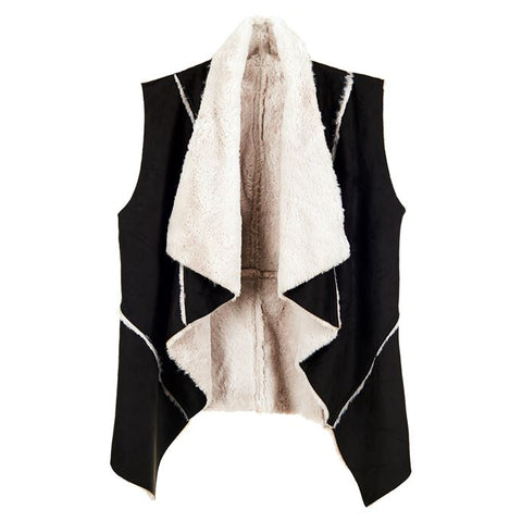 C+C Judson Sherpa/Suede Vest (more colors)