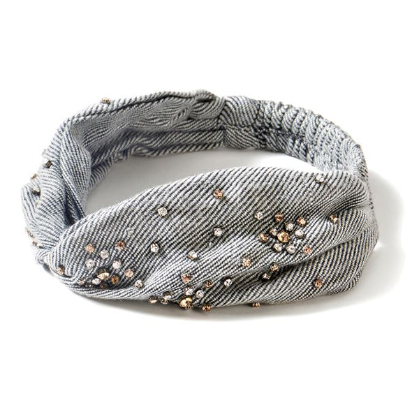Embellished Knit Twist Headband (more colors)