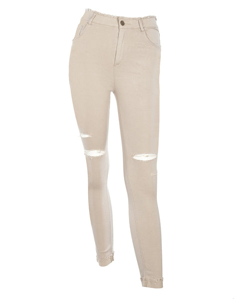 C+C Raw Edge Super Stretch Jeggings (more colors)
