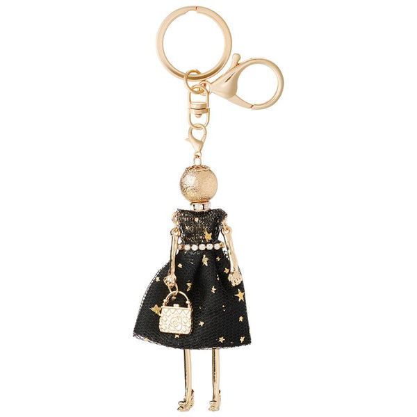 Charming Ladies Key Chain Bag Charm