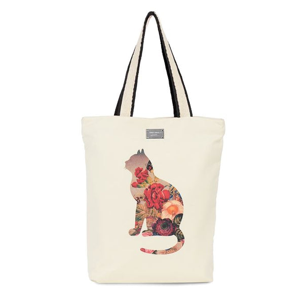 Recycle Fabric Animal Tote (more styles)