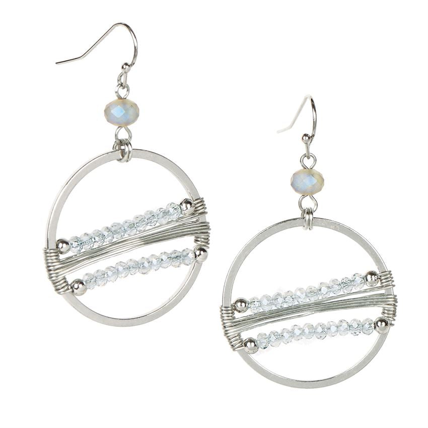 Bridgewater Bead Loom Earrings