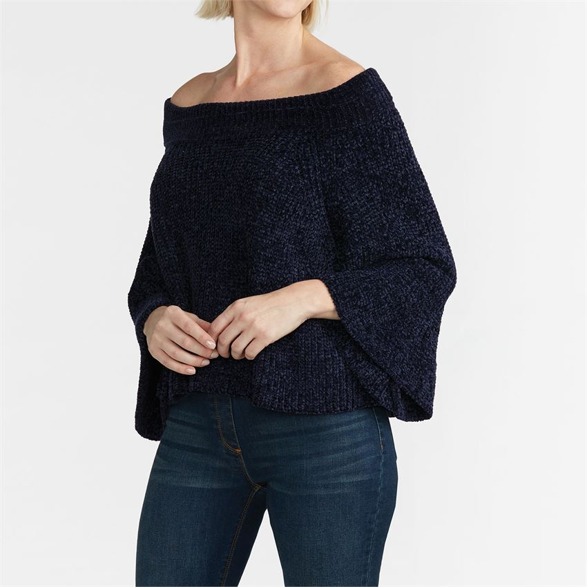 Nariya Convertible Navy Sweater