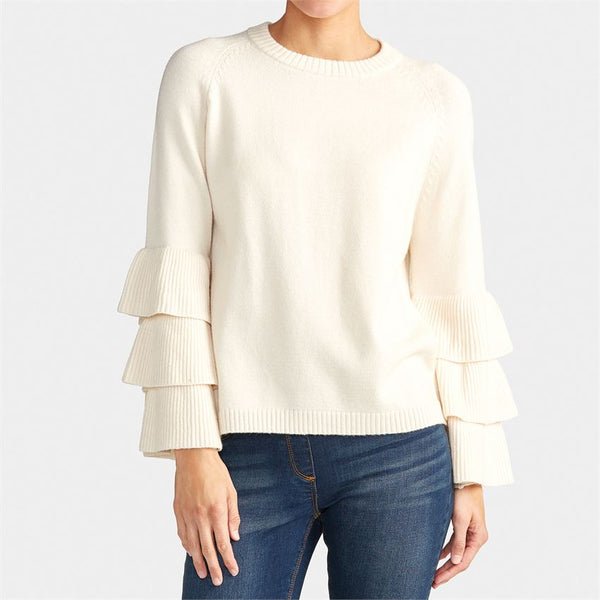 Timeless Tiered Sleeve Sweater (more colors)