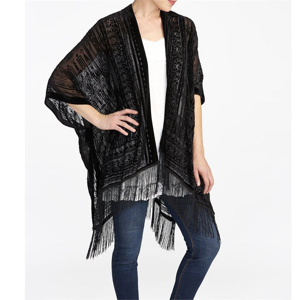 Landslide Velvet Burnout Kimonos (more colors)