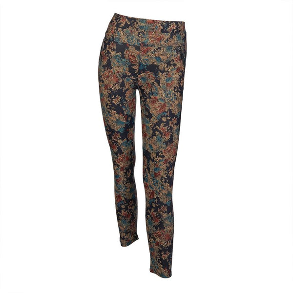 Printed Wide Waistband Leggings (more colors)