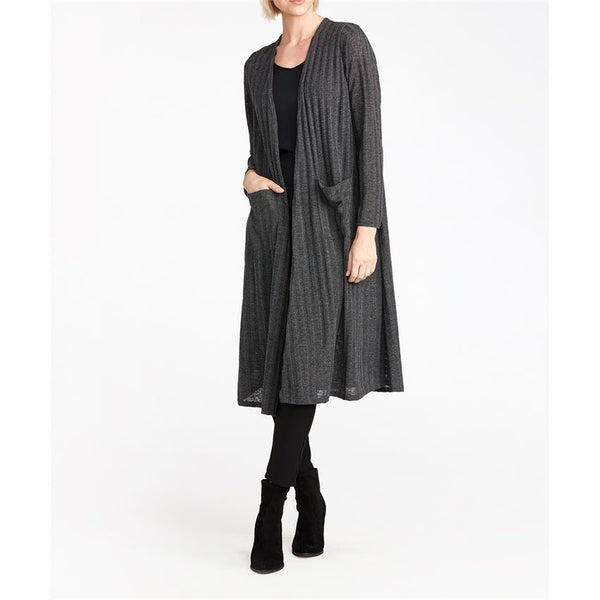 Wanderer Ribbed Long Cardigan (more colors)