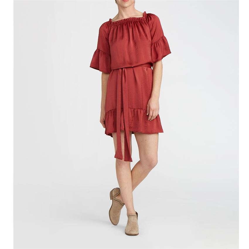 Larue Off-the-Shoulder Dress (more colors)