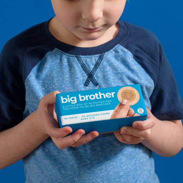 Big Brother - Activities to Prepare for a New Sibling