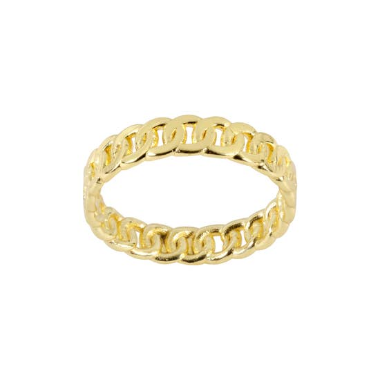 Figaro Chain Ring by Katie Dean