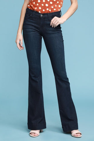 Dark Wash Denim Flare by Judy Blue Jeans