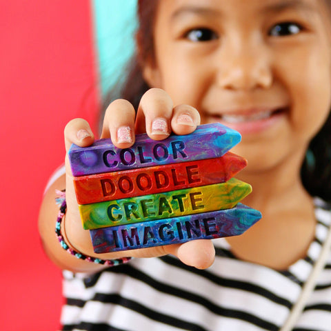 The Original Rainbow Crayon - CREATIVITY COLLECTION Mini Stix (4 pack)