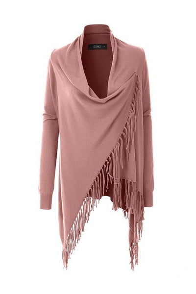 Cozy Up Fringe Wrap Cardigan (more colors)