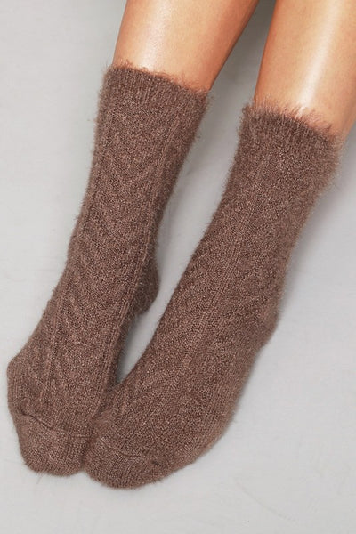 Fuzzy Wuzzy Socks (more colors)