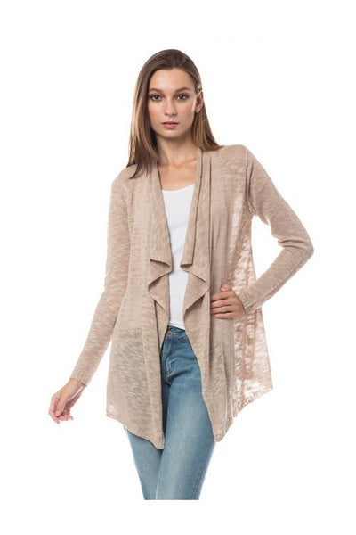 Cozy Soft Knit Open Front Cardigan (more colors)
