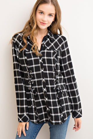 Rad Plaid Button Down Shirt