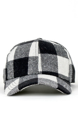 Buffalo Check Baseball Cap (more colors)