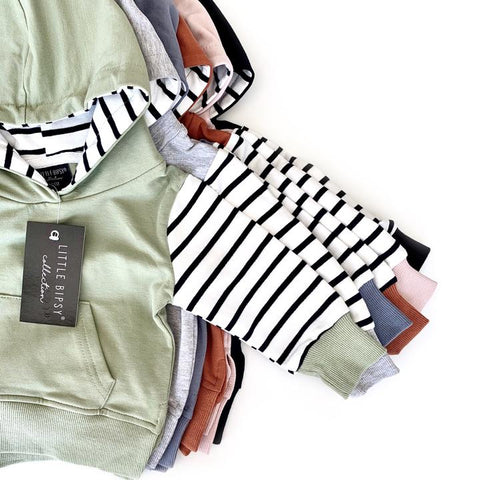 Little Bipsy - Stripe Hoodies (more colors)
