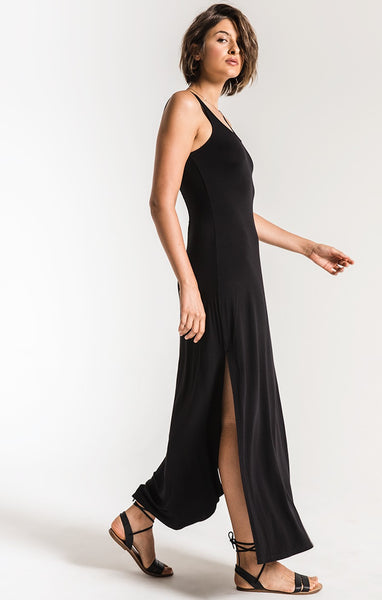 The Victoria Black Maxi Dress by Z SUPPLY