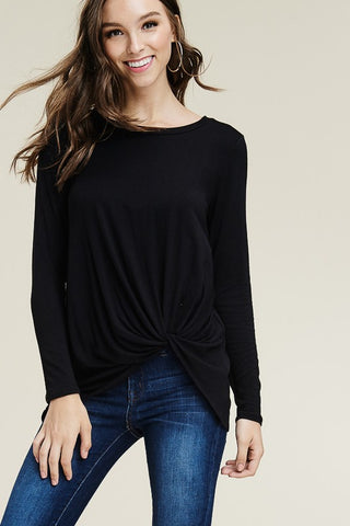The Twist Top Long Sleeve (more colors)