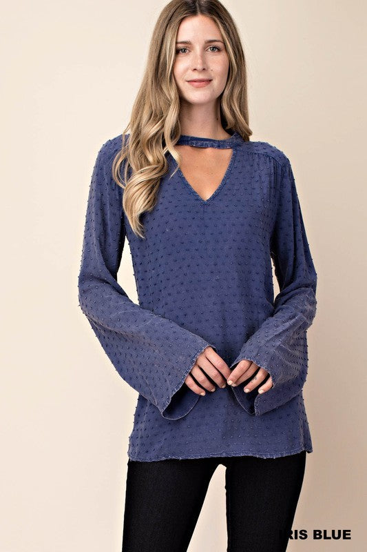 Lotti Dotti Long Sleeve Blouse (more colors)