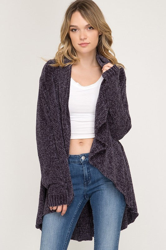 Snuggle Up Chenille Cardigan