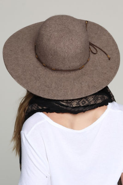 Soft Wool Felt Wide Brim Hat (more colors)