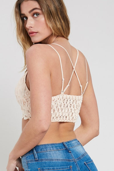 Fashion Blogger Lace Bralette (more colors)
