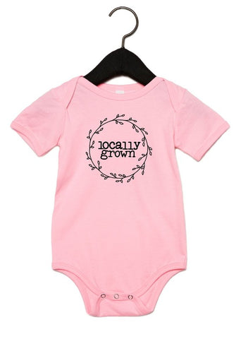 Locally Grown Onesie (more colors)