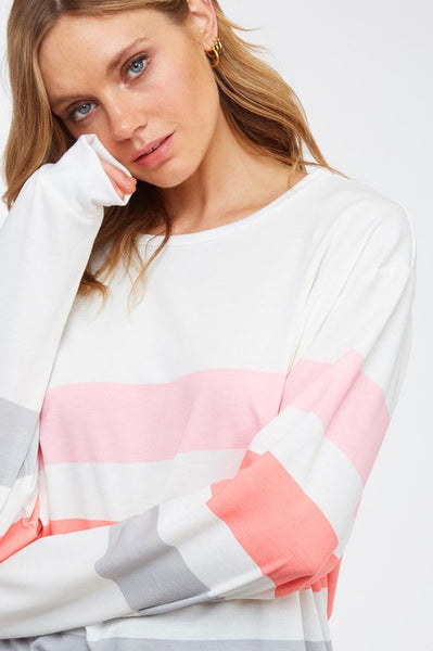 Cool Colorblock Sweatshirt