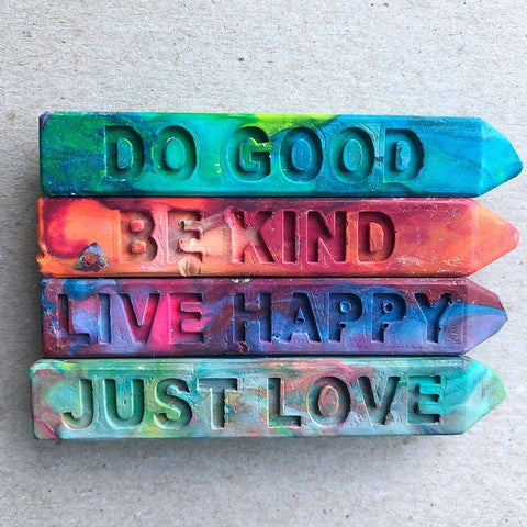 The Original Rainbow Crayon - KINDNESS COLLECTION Mini Stix (4 pack)
