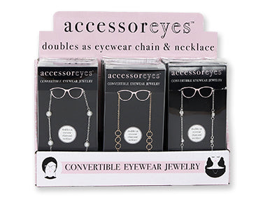 AccessorEYES Convertible Eyewear Jewelry