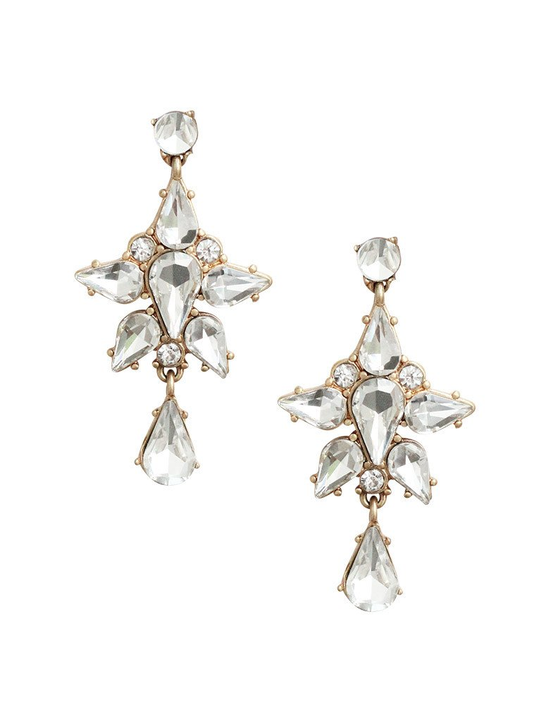 Alexandria Crystal Statement Earrings (more colors)