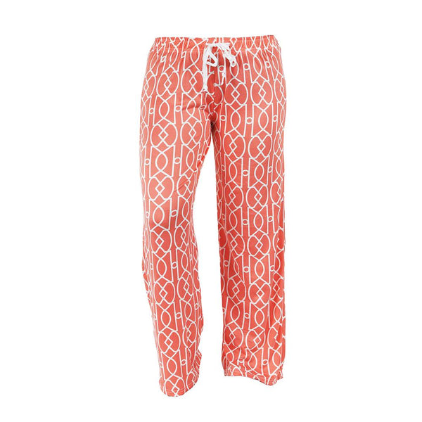Calming Coral Leisure Time Lounge Pants by Hello Mello