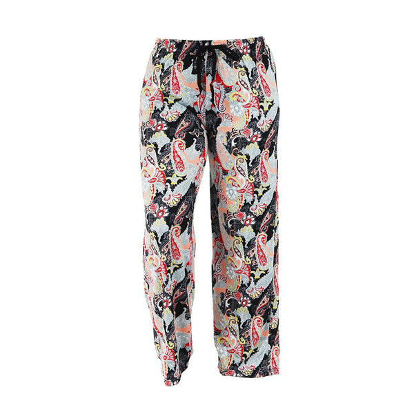 Midnight Paisley Leisure Time Lounge Pants by Hello Mello
