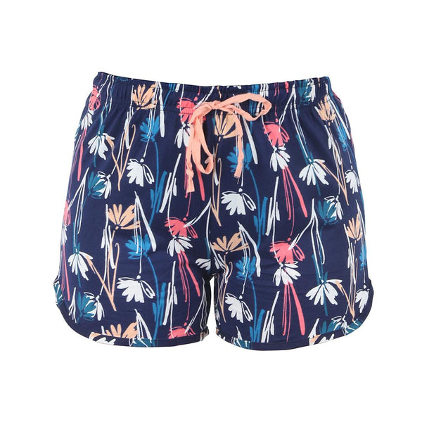 Twilight Meadow Leisure Time Lounge Shorts by Hello Mello