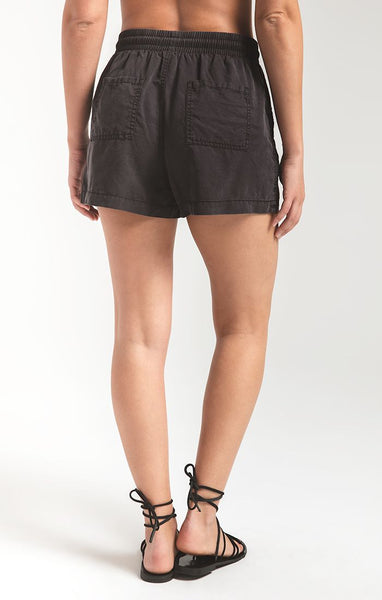 Black Nandini Shorts by Rag Poets