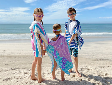 Fun in the Sun Hooded Beach/Pool Towels