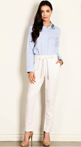 Business Lunch Linen Pants (more colors)